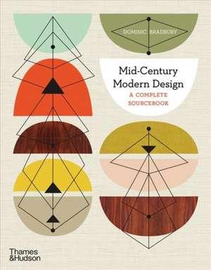 MIDCENTURY MODERN DESIGN de DOMINIC BRADBURY