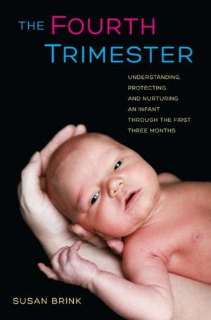 The Fourth Trimester – Understanding, Protecting and Nurturing an Infant Through the First Three Months de Susan Brink