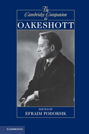 The Cambridge Companion to Oakeshott