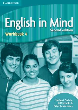 English in Mind Level 4 Workbook de Herbert Puchta