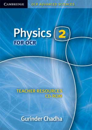 Physics 2 for OCR Teacher Resources CD-ROM