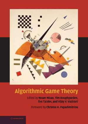 Algorithmic Game Theory imagine