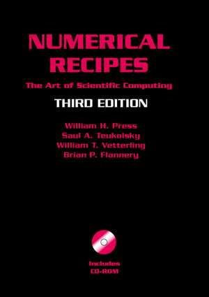 Numerical Recipes with Source Code CD-ROM 3rd Edition
