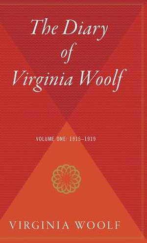 The Diary of Virginia Woolf Volume One de Virginia Woolf
