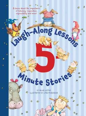 Laugh-Along Lessons 5-Minute Stories de Helen Lester