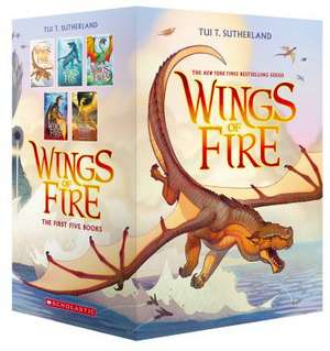 Wings of Fire Boxset, Books 1-5 (Wings of Fire) de Tui T Sutherland