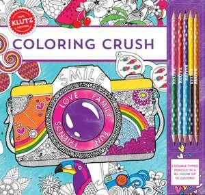 Carte de colorat si creioane Klutz