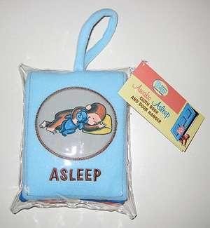 Curious Baby Awake/Asleep Cloth Book (Curious George)