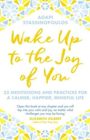 Wake Up To The Joy Of You de Agapi Stassinopoulos