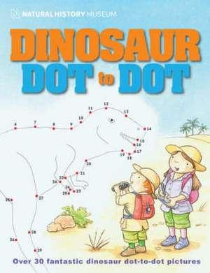 Natural History Museum Dinosaur Dot-to-dot