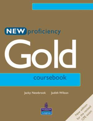 New Proficiency Gold. Coursebook