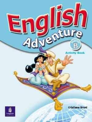 English Adventure Starter B Activity Book de Cristiana Bruni