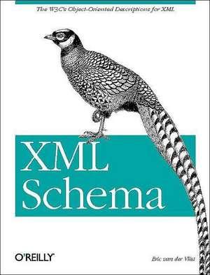 XML Schema de Eric Van Der Vlist