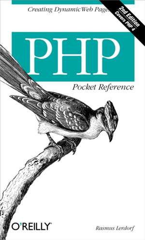 PHP Pocket Reference 2e