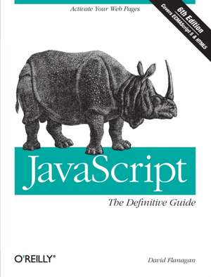 JavaScript: The Definitive Guide 6e
