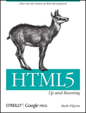 HTML5 – Up and Running