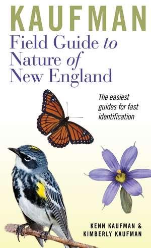 Kaufman Field Guide to Nature of New England de Kenn Kaufman