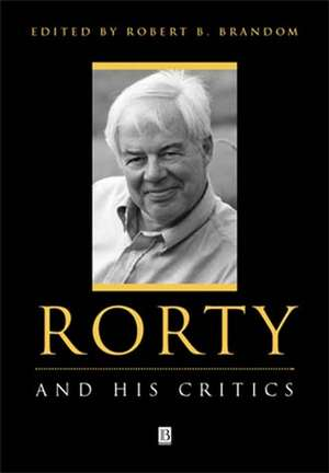 Rorty and His Critics imagine
