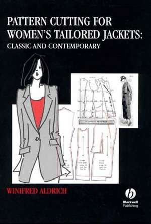 Pattern Cutting for Women′s Tailored Jackets imagine