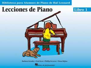 Piano Lessons Book 1 - Spanish Edition de Phillip Keveren
