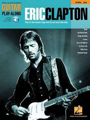 Eric Clapton Guitar Play: Along de  Eric (CRT) Clapton