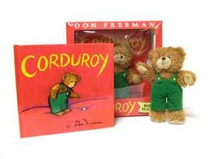 Corduroy / Nasturel [cu ursulet de plus]
