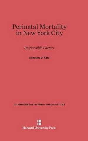 Perinatal Mortality in New York City