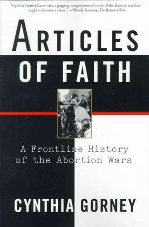Articles of Faith de Cynthia Gorney