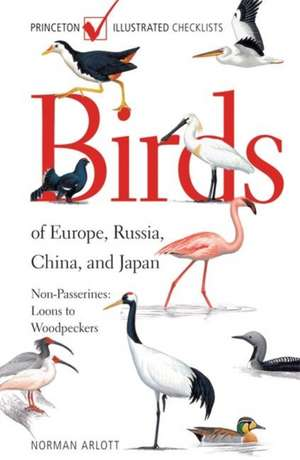Birds of Europe, Russia, China, and Japan – Passerines – Tyrant Flycatchers to Buntings
