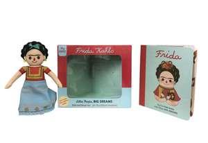 Frida Kahlo Doll and Book Set de Maria Isabel Sanchez Vegara