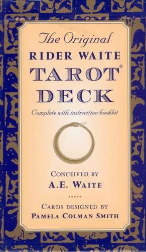 The Original Rider Waite Tarot Deck imagine