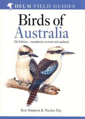 Field Guide to the Birds of Australia