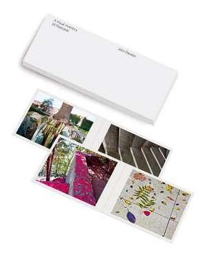John Pawson:  Visual Inventory Postcards de Phaidon Press