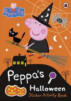 Peppa Pig: Peppa's Halloween Sticker Activity Book