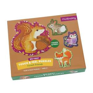 Forest Friends My First Touch & Feel Puzzles de Mudpuppy