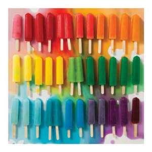 Puzzle 500 piese Rainbow Popsicles de JULIE SEABROOK REAM