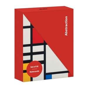 Abstraction Diagonal Notecard Set de Galison