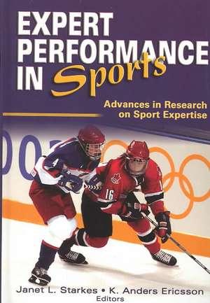 Expert Performance in Sports de Janet L. Starkes