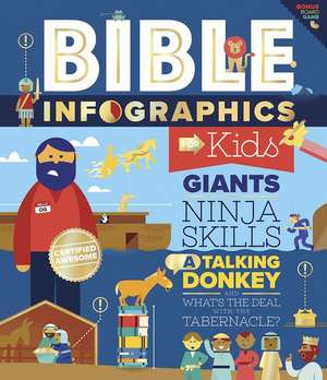 Bible Infographics for Kids: Giants, Ninja Skills, a Talking Donkey, and What's the Deal with the Tabernacle?
