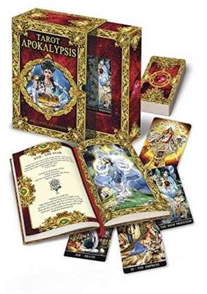 Apokalypsis Tarot Kit:  Scrying, Spirit Communication, and Alchemical Wisdom de Kim Huggens