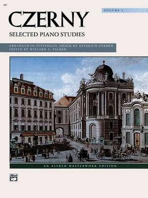 Czerny -- Selected Piano Studies, Vol 1 de Carl Czerny