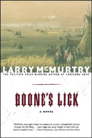 Boone's Lick de Larry McMurtry
