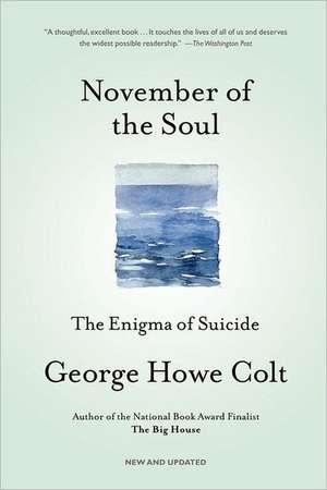 November of the Soul de George Howe Colt