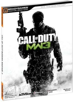 Call of Duty: Modern Warfare 3 Signature Series Guide de BradyGames