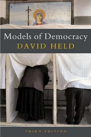 Models of Democracy de David Held