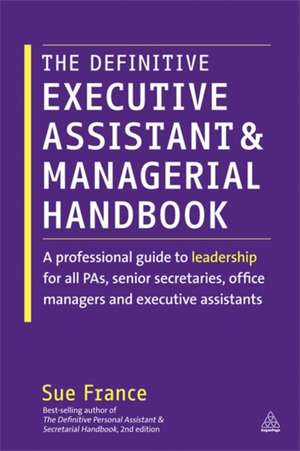 The Definitive Executive Assistant and Managerial Handbook imagine