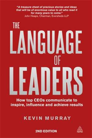 The Language of Leaders de Kevin Murray