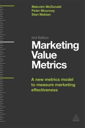 Marketing Value Metrics de Malcolm McDonald