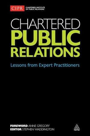 Chartered Public Relations de Stephen Waddington