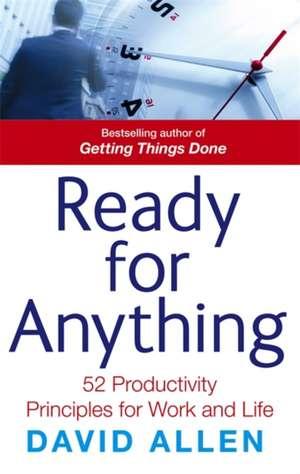 Ready for Anything de David Allen